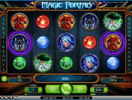 Magic Portals ビデオスロット